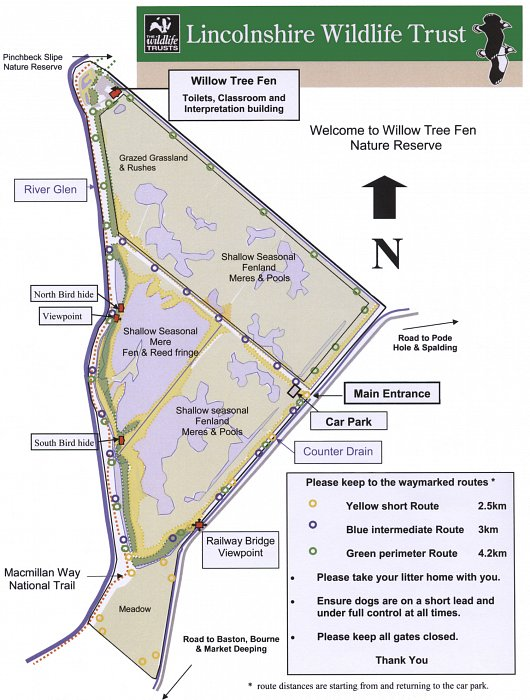 Willow Tree Fen Map